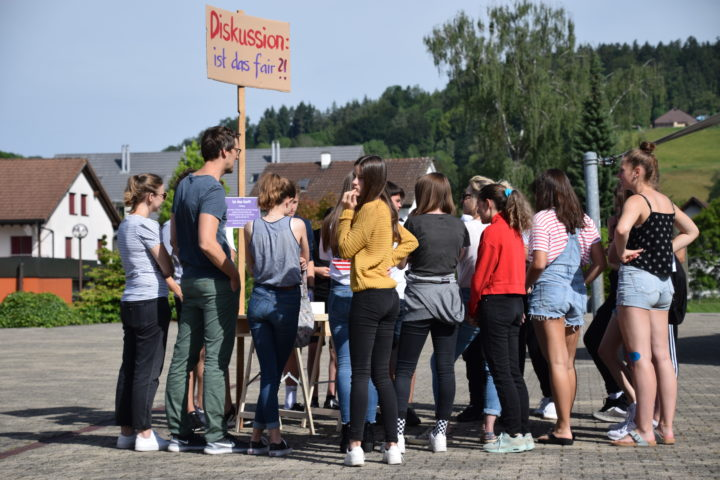 DSC 0041. Frauenstreiktag, Sekundarschule Neftenbach, 14. Juni 2019