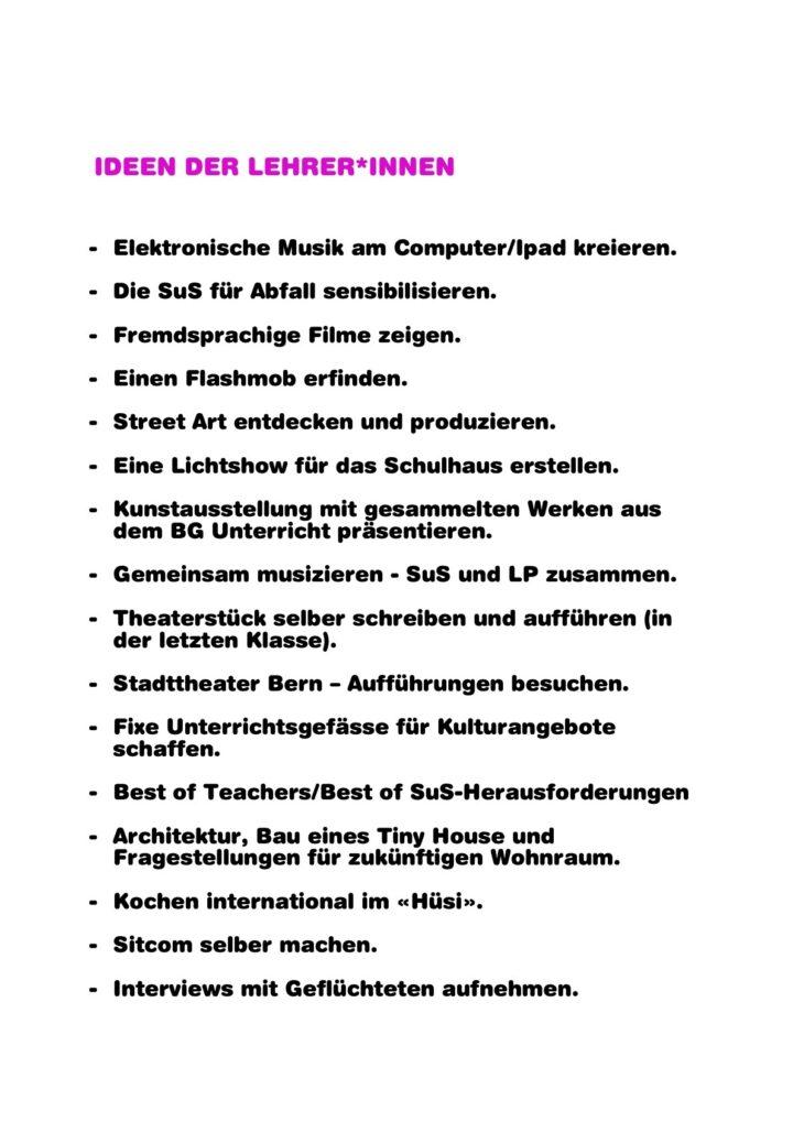 Hitparade der Impulse 03.