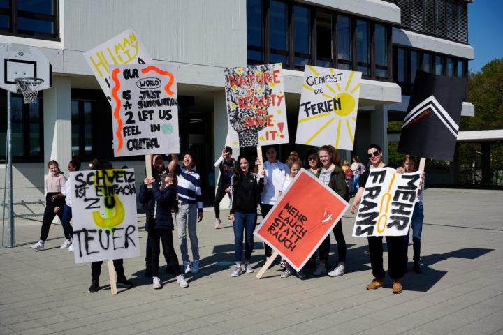 CBene-Redmann. Workshop «Plakate vermitteln eine Botschaft» mit Marie Cuennet